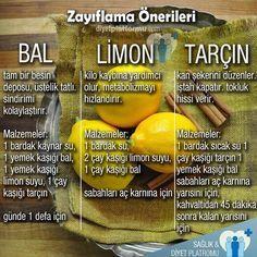 Bal, limon ve tarçın ile hazırlayabilecek üç pratik öneri #diyet #sağlık…