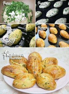 Petersilienpancaca mit Petersilienrezept, How to - Donut recipes Most Delicious Recipe, Delicious Cake Recipes, Yummy Food, Easy Baking Recipes, Donut Recipes, Cooking Recipes, Armenian Recipes, Turkish Recipes, Ethnic Recipes