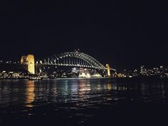 The amazing view of Sydney Harbour Bridge from Circular Quay.  #sydney #australia #syd #nsw #aus #bridge #sydneyharbour #sydneyharbourbridge #night #lights #reflection #travel #instatravel #instapassport #tlpicks #instadaily #photooftheday #bestoftheday #wanderlust by anotherwanderluster http://ift.tt/1NRMbNv