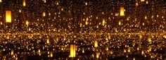 the hirshhorn museum hosts six immersive infinity mirror rooms by yayoi kusama