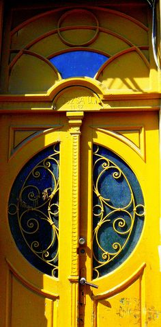 ༺♥༻Timisoara Old Door 26 by marculescubalasadomnita-romania, via Flickr༺♥༻