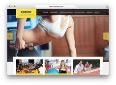 Energy WordPress Theme by WPzoom