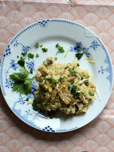 Risotto med champignon (low fodmap)