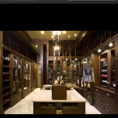 If heaven were a closet...