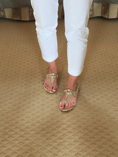 My fav gold sandals