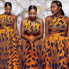 African clothing store by Lannycouture African Prom Dresses, African Dresses For Women, African Attire, African Wear, African Fashion Dresses, African Women, Ankara Fashion, African Style, African Print Fashion