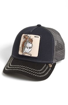 Goorin Brothers  Animal Farm - Squirrel Master  Snapback Trucker Hat  9dd6e7f0139c