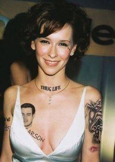Female Actors With Bird Tattoos Porn