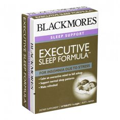 Convenient one-a-night formula. Helps insomnia due to stress. Helps support healthy sleeping patterns. Helps reduce sleeplessness due to overactive mind and racing thoughts. Helps transition into restful sleep. Wake refreshed with no associated morning drowsiness.