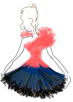 ballet inspired fashion illustration
