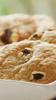 Easy-to-make cookies with yogurt and raisins Healthy Cookie Dough, Sugar Cookie Recipe Easy, Cake Mix Cookie Recipes, Oatmeal Cookie Recipes, Butter Cookies Recipe, Chocolate Cookie Recipes, Easy Cake Recipes, Cake Mixes, Biscuits Aux Raisins