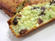 I made this Zucchini Bread with a big piece of homegrown Zucchini given by a friend.  This is very easy to prepare and there's no necessi...