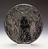 Sgraffito pottery from my friend Cheryl Takata.