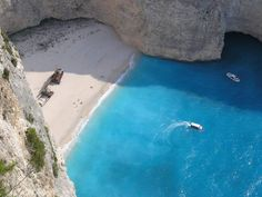 Zakyntos -- take me to this beach please!