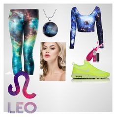 """""""coloryelllow"""" by anjakielb on Polyvore featuring NIKE and TheBalm"""