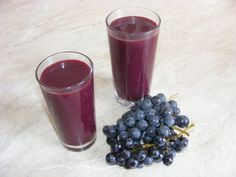 Smoothie de struguri Blackberry, Natural, Panna Cotta, Healthy Lifestyle, Food And Drink, Mai, Drinks, Ethnic Recipes, Smoothie