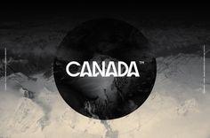 Canada™ Typeface by Anthony Neil Dart, via Behance
