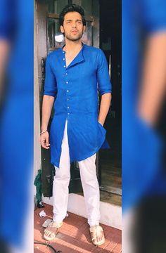 Boys Kurta Design, Crush Pics, Kurta Men, Mens Kurta Designs, Indian Men Fashion, Cute Photography, Cute Celebrities, Tv Actors, Sherwani