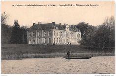 Sur l'Erdre, le chateau de la Desnerie