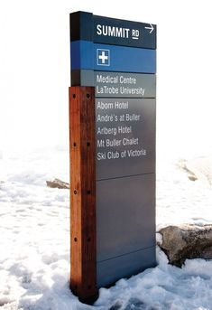 Mount Buller Village Wayfinding | Heine Jones