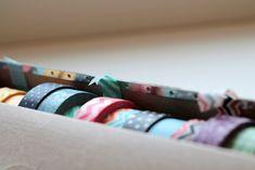 Wax Paper Box to Washi Tape Dispenser via homework (4)