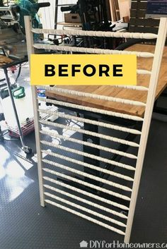 Check out this creative shoe storage solution by repurposing an old crib. This hanging shoe organization idea is perfect for hanging on the wall in your bedroom or entryway closet especially good for small spaces where there isn't much room for boxes. Shoe Storage Unit, Hanging Shoe Storage, Shoe Storage Solutions, Hanging Shoe Organizer, Hanging Shoes, Storage Ideas, Shoes Organizer, Closet Storage, Diy Storage