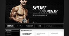 Clean and Elegant Online Sports Store Prestashop Theme