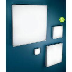 Al-book quadrato - Linea Light - Soffitto - Progetti in Luce