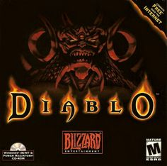 Diablo is an action role-playing hack and slash video game developed by Blizzard North and released by Blizzard Entertainment on December 31, 1996. Set in the fictional Kingdom of Khanduras, located in the world of Sanctuary, Diablo has the player take control of a lone hero battling to rid the world of Diablo, the Lord of Terror. Beneath the town of Tristram, the player journeys through sixteen dungeon levels, ultimately entering Hell itself in order to face Diablo.