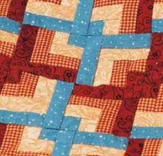 Free log cabin quilt patterns download