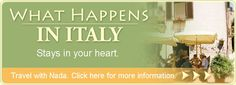 LOVE LOVE LOVE Nada's Italy - Took her Traditions of Tuscany tour for our honeymoon.  Can not wait to go back to Italy.
