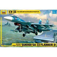 Maquette 1/72 - SU-33 Flanker-D - ZVEZDA