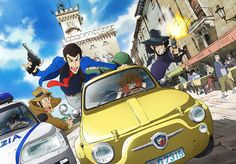 TMS Entertainment announced on Wednesday that it will hold a screening of the Lupin III Italian Game special at Anime Expo on July In The Italian G. Anime Expo, Tv Anime, Arsen Lupin, Anime Rating, Tms Entertainment, Japan Expo, Anime Dubbed, Panini Comics, Lupin The Third