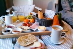 Dieses tolle Frühstück gab's in der Fabrikantenvilla in Erkrath  ... #winterglück #B&B