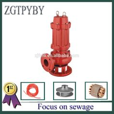 409.00$  Buy here - 4kw 5.5hp heat-resistant sewage submersible water pump for factory and industrial  #buyininternet