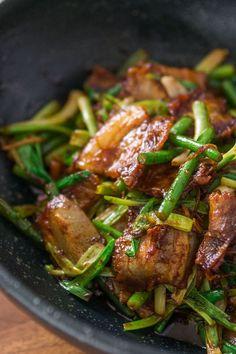 Huí Guō Ròu (回锅肉) li