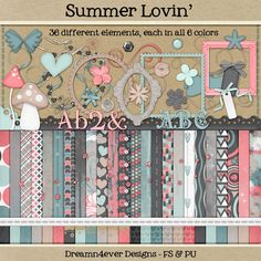 Thursday's Guest Freebies ~ Dreamn 4ever Designs ✿ Follow the Free Digital Scrapbook board for daily freebies: https://www.pinterest.com/sherylcsjohnson/free-digital-scrapbook/  ✿ Visit GrannyEnchanted.Com for thousands of digital scrapbook freebies. ✿