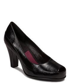 Look at this A2 by Aerosoles Black Big Ben Pump on #zulily today!