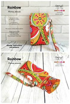 Outstanding 10 sewing hacks projects are readily available on our site. Have a look and you will not be sorry you did. Clutch Bag Pattern, Wallet Sewing Pattern, Beginner Sewing Patterns, Wallet Pattern, Purse Patterns Free, Bag Pattern Free, Handbag Patterns, Bag Patterns To Sew, Cell Phone Pouch