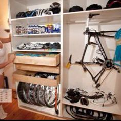 Extreme closet makeover, triathlete-style