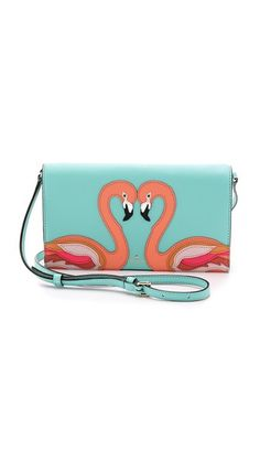 Kate Spade New York Flamingo Wallet #Shopbop