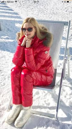 Ski Outfits, Winter Outfits, Winter Coats Women, Winter Jackets, Mode Au Ski, Ski Fashion, Womens Fashion, Suits For Women, Jackets For Women