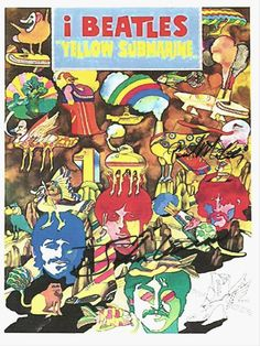 Cool Yellow Submarine Autographed Poster, check out www.allautograph.com