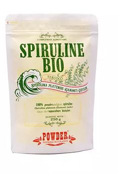 Spiruline biologique en poudre