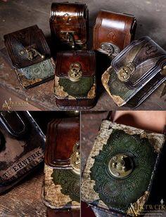 Steampunk Tendencies |Belt bags Victorian / Steampunk style