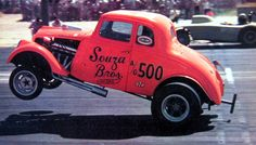 Souza Bros. Willy's Gasser - From the pages of Car Craft  Hot Rod Magazines