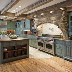 Rustic italian farmhouse style ideas retro style kitchen farmhouse plans decorating cabinet home interior decorating design . Rustic Kitchen Design, Farmhouse Kitchen Cabinets, Modern Farmhouse Kitchens, Kitchen Designs, Rustic Farmhouse, Kitchen Ideas, Farmhouse Style, Rustic Style, Country Style