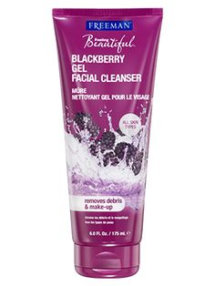 Blackberry Gel Facial Cleanser from Freeman | Find more cruelty-free beauty @Quirkist |