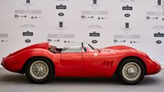 Zweimüller won best preserved postwar car at this year's Concorso d'Eleganza Villa d'Este for his 1957 Fantuzzi-bodied Maserati 200Si.