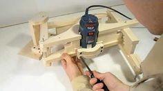 Building the 3-D pantograph - YouTube